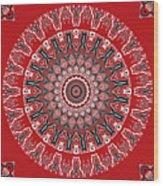 Destiny Mandala Wood Print