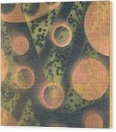 Destroy Mysteries Wood Print