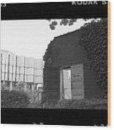 Destruction Of The Speech Annex, 1980 Wood Print