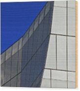 Detail Frank Gehry Building Mnhattan Wood Print
