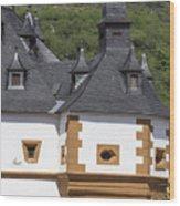 Detail Of Burg Pfalzgrafenstein Wood Print
