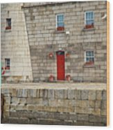 Detail Of Howth Lighthouse Wood Print