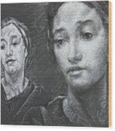 Detail Of Stressed Wood Print