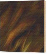 Detail - Pre-raphaelite Tresses Wood Print
