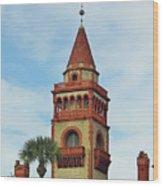 Details Of Flagler College Wood Print