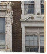 Details Of The Patrick Henry Hotel Roanoke Virginia Wood Print