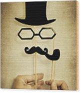 Detective Wood Print