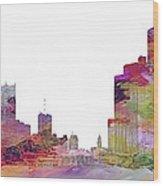 Detroit Colors Wood Print