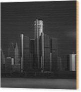 Detroit I Wood Print