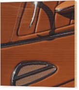 Deucenberg Hot Rod Interior Door Wood Print