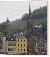 Deutsche Spire Wood Print
