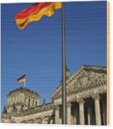 Deutscher Bundestag Wood Print