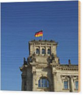 Deutscher Bundestag II Wood Print