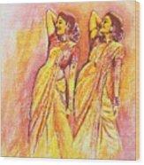 Devdas Dance Wood Print