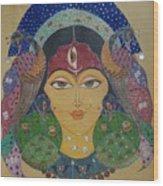 Devi Wood Print