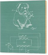 Device For Protecting Animal Ears Patent Drawing 1d Wood Print