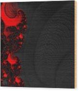 Devil Light 2   A Fractal Abstract Wood Print