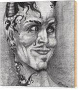 Devil May Cry Wood Print
