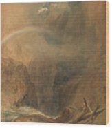 Devil's Bridge Saint Gotthard's Pass Wood Print
