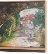 Devil's Creek - Prague Wood Print