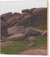 Devils Den At Gettysburg Wood Print