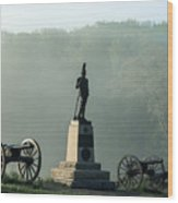 Devil's Den Monument At Gettysburg Wood Print