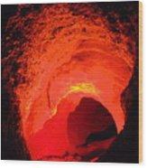Devil's Hole Wood Print