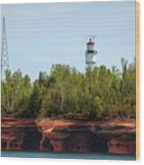 Devils Island Apostle Islands Lighthouse Wood Print