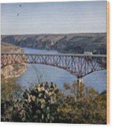 Devils River Hi Bridge Wood Print