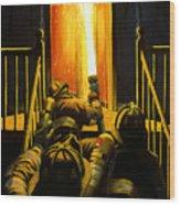 Devil's Stairway Wood Print