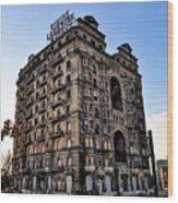 Divine Lorraine Hotel - Broad Street Philadelphia Wood Print