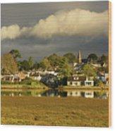 Devoran, Cornwall, Uk Wood Print