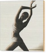 Devotion To Dance Wood Print