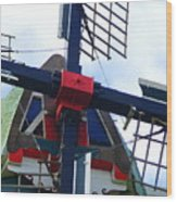 Dezwaan Windmill Holland Michigan Wood Print