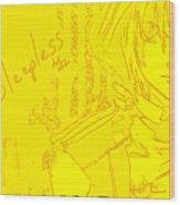 D.gray-man Wood Print