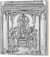 Dhanvantari, God Of Ayurvedic Medicine Wood Print