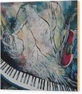 Di Musica Wood Print