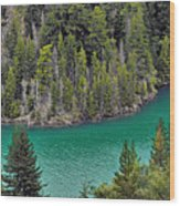 Diabolo Lake North Cascades Np Wa Wood Print