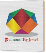 Diamond Art Wood Print
