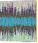 11043 Diamond Dogs By David Bowie V2 Wood Print