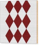 Diamond Poker Card Game Symbol Abstract Modern Art On T-shirts N Pod Navinjoshi Fineartameririca Wood Print