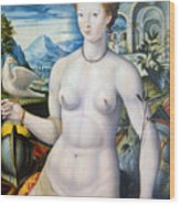 Diane De Poitiers (1499-1566) Wood Print
