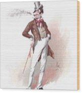 Dick Swiveller Wood Print