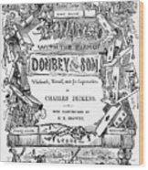 Dickens: Dombey And Son Wood Print