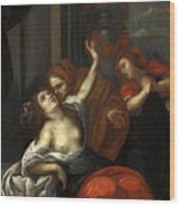 Dido Wounded Wood Print