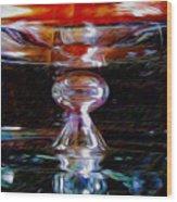 Die Glasdecke Wurde Gebrochen Wood Print