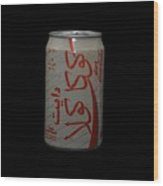 Diet Coke Wood Print