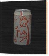 Diet Coke Wood Print