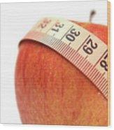 Diet Concep Wood Print