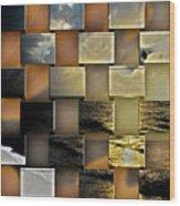 Different Shores  Wood Print